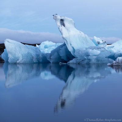 Iceland, Jökulsárlón, Glacier lagoon