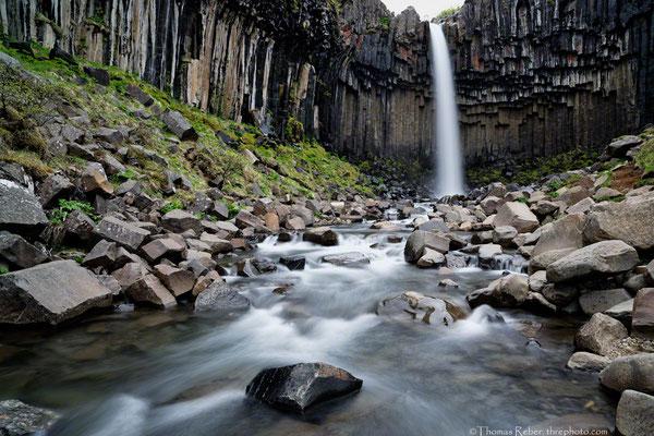 Iceland, Svartifoss
