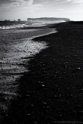 Iceland, Black beach