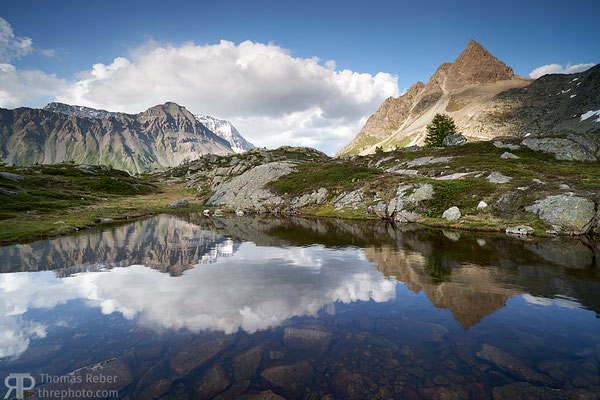 Switzerland, Albula, the cloud
