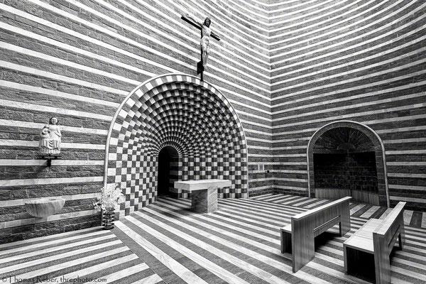 Switzerland, Mogno, Mario Botta, church