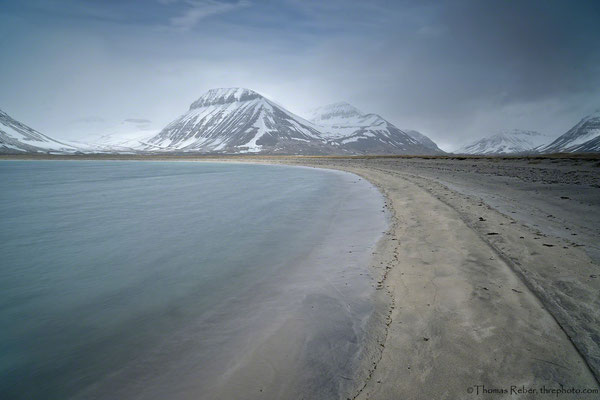 Iceland, lonely beach