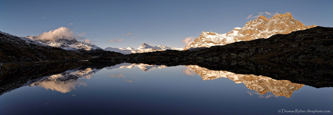 Switzerland, San Bernardino, reflection