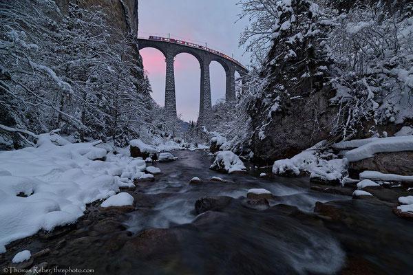 Switzerland, Filisur, Landwasserviadukt