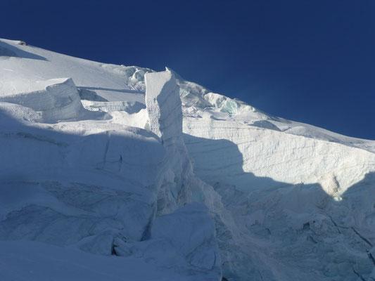 Gletscherwelt, wie man sie bei uns nur mehr – leider – selten sieht