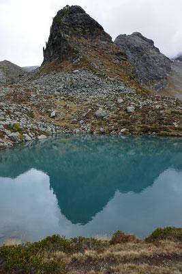 Tristennock spiegelt sich im See