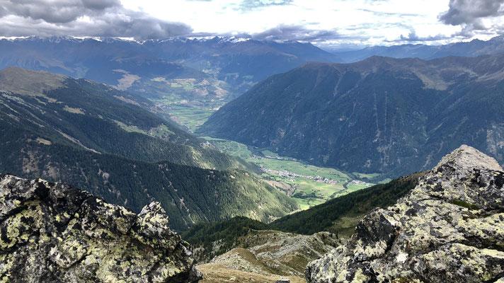 Blick nach Taufers im Münstertal