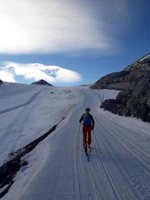 Skitour, so zäh war dies im Oktober über Jahre (leider) nicht mehr