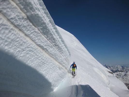 Eiswände zum Angst kriegen