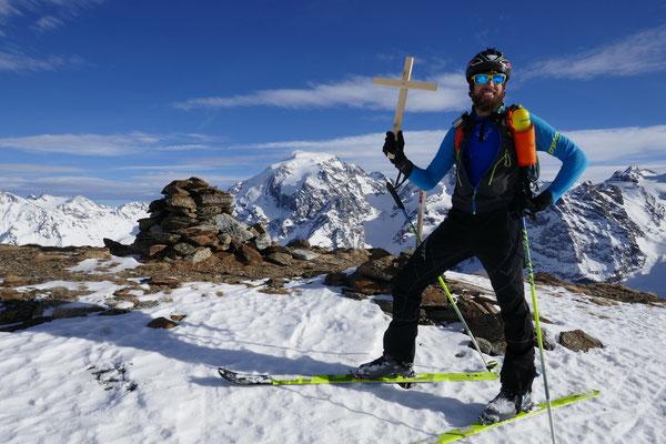 Bergheil zum siebten, auf der Karspitze