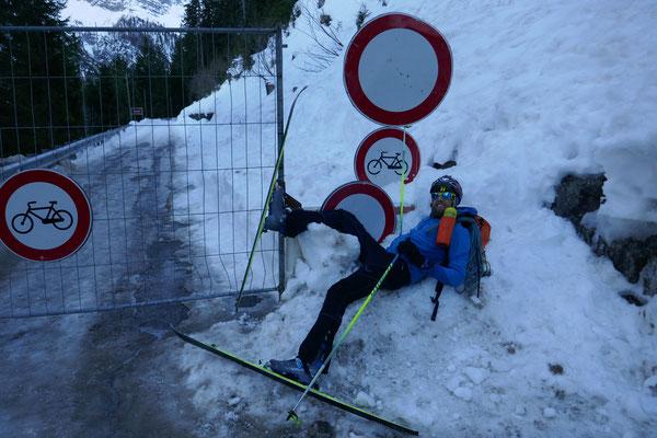 Bergtol - sichtlich erschöpft, aber gesund und überglücklich