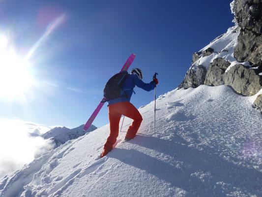 Winter- Skitourgefühle kamen auf