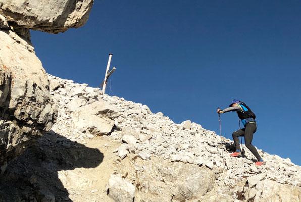 zum Gipfel des Piz Starlex