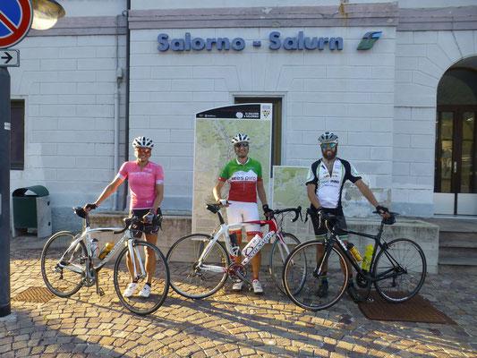 sichtlich Überglück erreichten Gerlinde, Kommadant und Franz das gesteckte Ziel. Bergtol