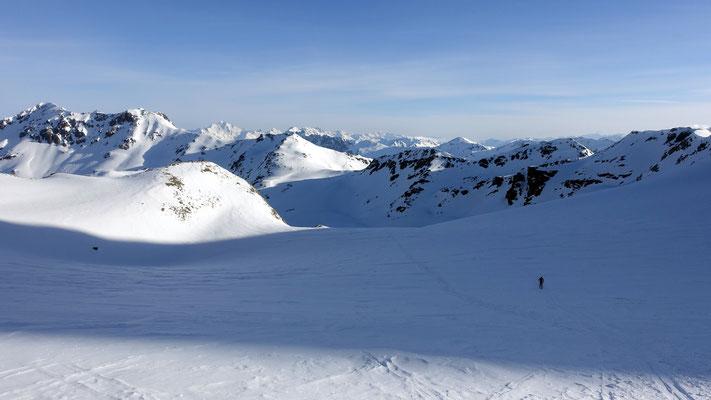das Gletscherbecken des Piz Sesvenna