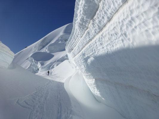 Hier ist die Gletscherwelt noch in Ordnung