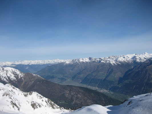 Toller Ausblick von diesem Berg