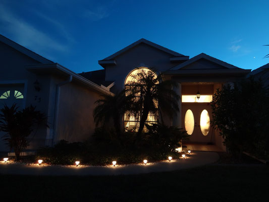 Villa Catch The Sun - bei Nacht