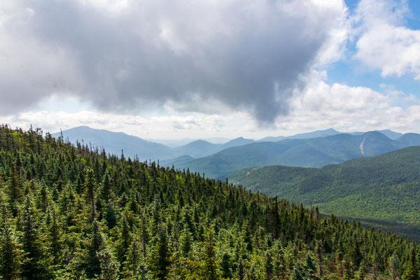 Vue depuis Porter Mountain
