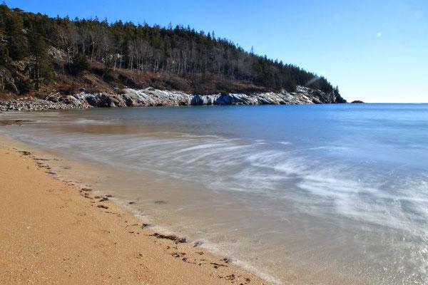 Sand Beach, Acadia National Park, ME, USA