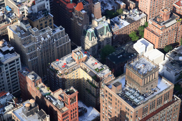 Depuis l'Empire State Building