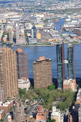 Depuis l'Empire State Building