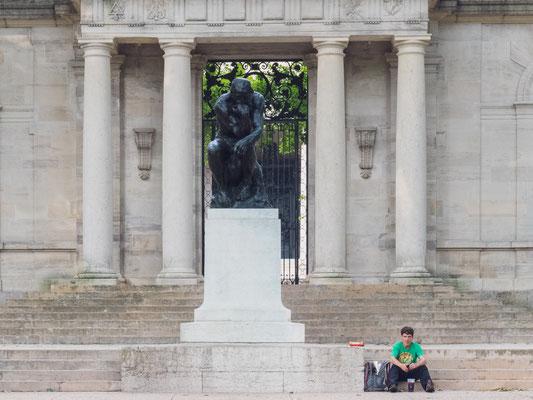Entrée du Musée Rodin