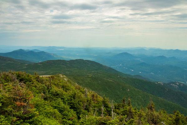 Vue depuis le sommet de Whiteface Mountain