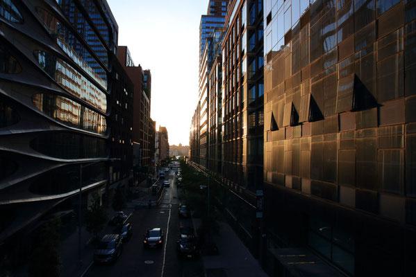 Depuis la High Line