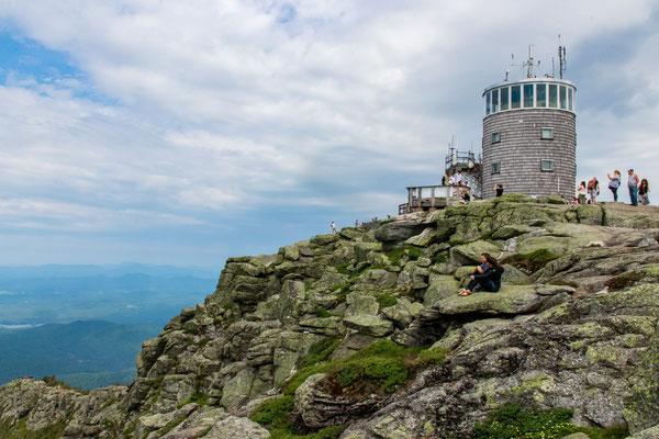 Le sommet de Whiteface Mountain!!