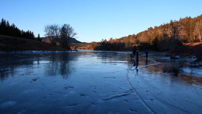 Little Long Pond, ME, USA