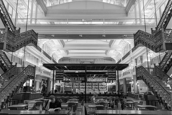 Intérieur de la bourse de philadelphie