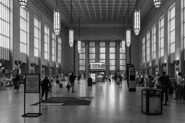 La gare, c'est l'heure du retour