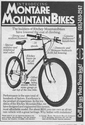 Gary Fisher - oldschoolracing ch - vintage Mountainbikes