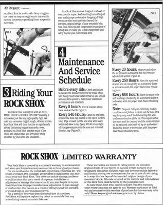 Rock Shox - oldschoolracing ch - vintage Mountainbikes race ready!
