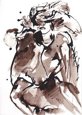 ink/paper, 14,8 x 10,6 cm, 2020