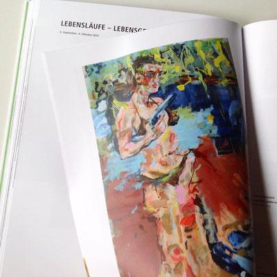 """Gruppenausstellung """"Lebensläufe - Lebensgeschichten"""" 6. September - 4. Oktober 2015"""