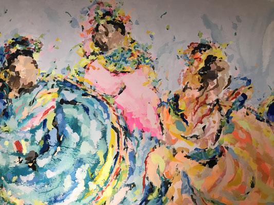 Ausschnitt des Gemäldes
