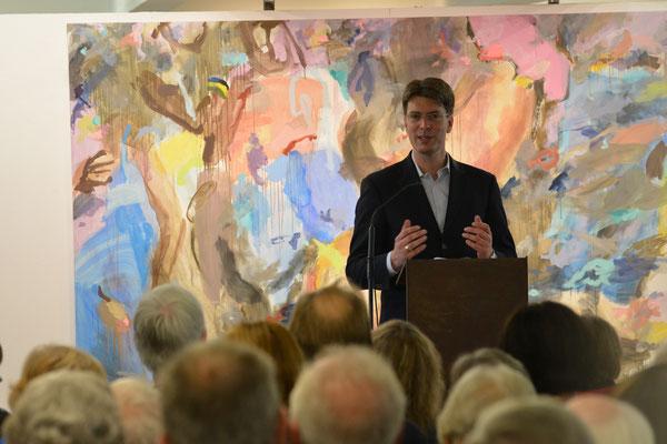 Grußworte von Oberbürgermeister Dr. Meyer. Foto: Peter Brunnert