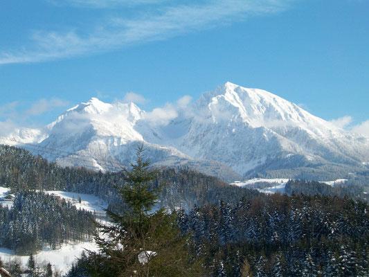 Kleiner und Großer Pyhras im Winter