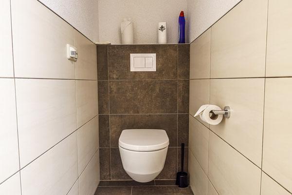 Fewo B - separates WC