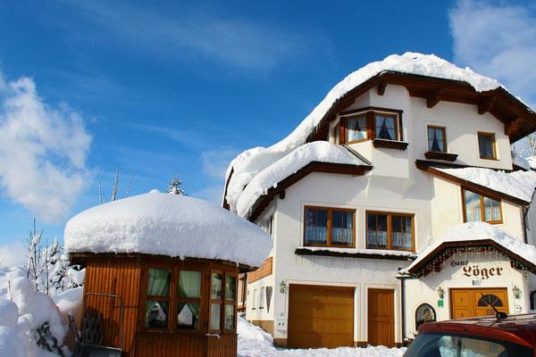 Haus Löger und viel Schnee 2019 - Haus Löger Apartments - Windischgarsten
