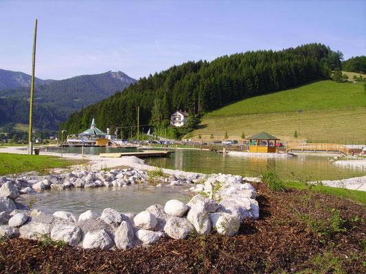 Edelbacher Badeteich am Golfplatz