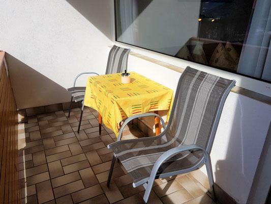 Balkonausstattung - Haus Löger Apartments - Windischgarsten
