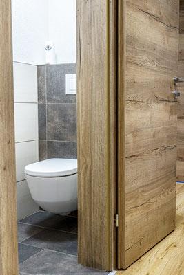 Fewo D - separates WC