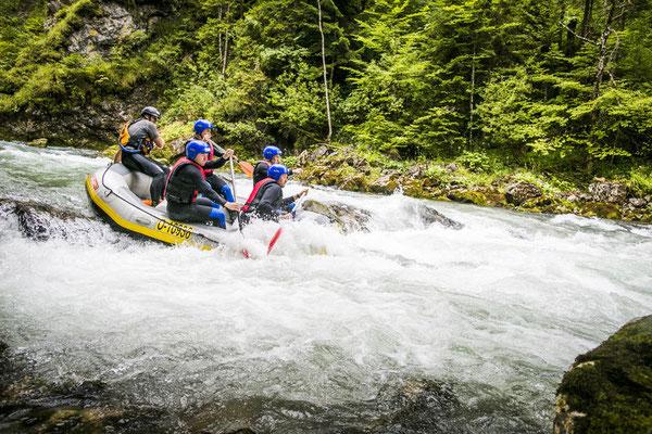 Rafting auf der Steyr