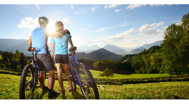 Moutainbiken und Radfahren