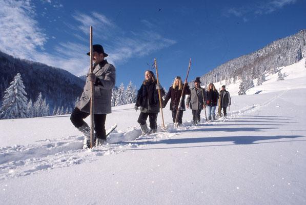 Schneeschuhwanderung im Nationalpark Kalkalpen