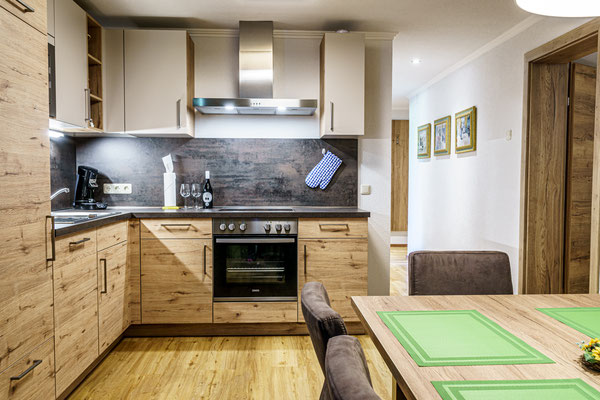 Wohnküche Apartment D Priel
