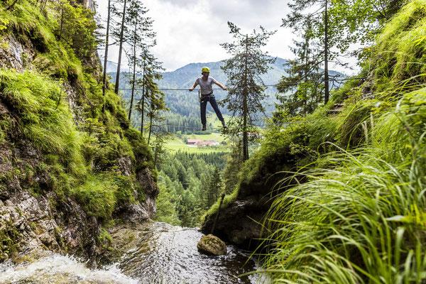 Waldhochseil- und Felsklettergarten